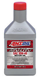 AMSOIL 10W-40 Synthetic ATV-UTV Oil