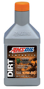 AMSOIL Dirt Motorcycle Oil 10W-50